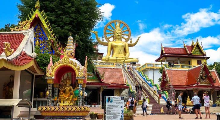 grote boeddha koh samui excursie