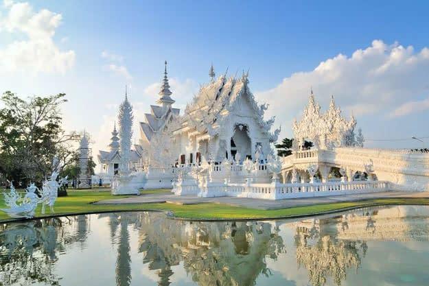chiang rai witte tempel excursie