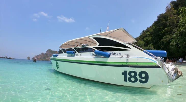 speedboot dagtrip krabi 4 eilanden