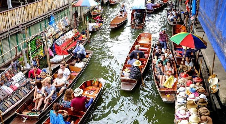 bangkok dagtrip drijvende markt damnoen saduak