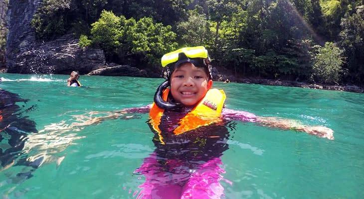 snorkelen 4 eilanden excursie krabi